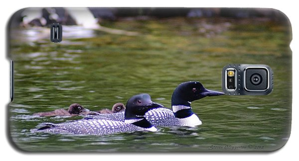 Loons With Twins 4 Galaxy S5 Case