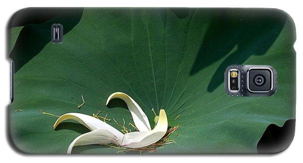 Lotus Leaf--castoff IIi Dl060 Galaxy S5 Case