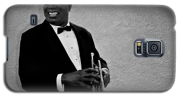 Trumpet Galaxy S5 Case - Louis Armstrong Bw by David Dehner