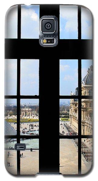 Louvre Window Galaxy S5 Case