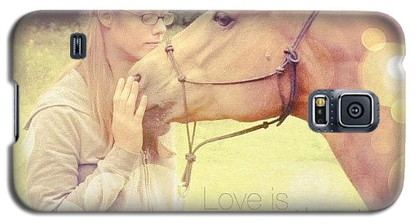 Love Is Patient. 1 Corinthians 13:4💚 Galaxy S5 Case