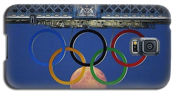 Love The #olympics #london2012 Galaxy S5 Case by Cyril Attias