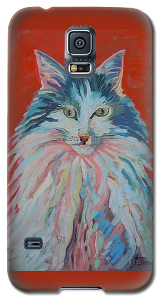 Galaxy S5 Case featuring the painting Lovely Star by Francine Frank