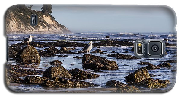 Galaxy S5 Case featuring the photograph Low Tide by Marta Cavazos-Hernandez