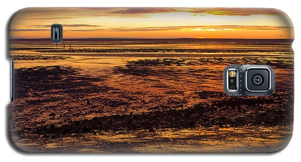 Galaxy S5 Case featuring the photograph Low Tide by Michael Friedman