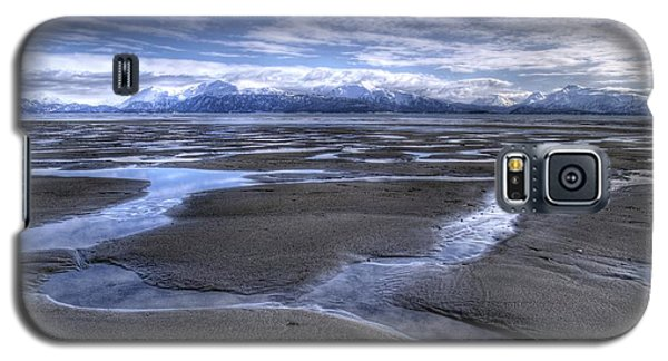 Galaxy S5 Case featuring the photograph Low Tide by Michele Cornelius