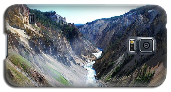 Lower Falls - Yellowstone Galaxy S5 Case by Dany Lison