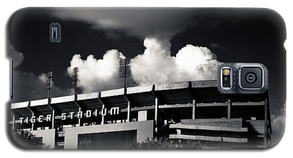 Lsu Tiger Stadium Black And White Galaxy S5 Case by Maggy Marsh