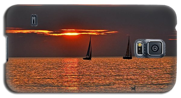 Coral Maritime Dream Galaxy S5 Case