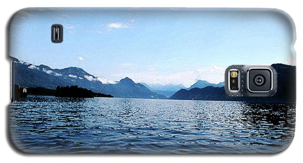 Galaxy S5 Case featuring the photograph Lucerne Lake by Pravine Chester