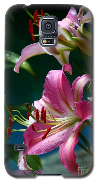 Lushes Fragrant Lilies Galaxy S5 Case