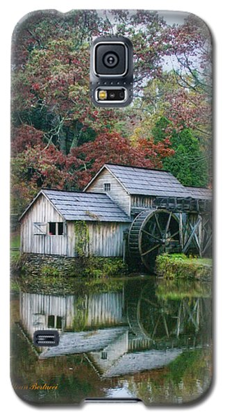Galaxy S5 Case featuring the photograph Mabry Mill by Joan Bertucci