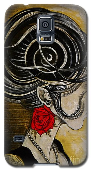 Madame D. Eternal's Dance Galaxy S5 Case by Sandro Ramani