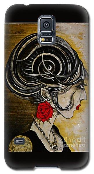 Madame D. Eternal's Dance Galaxy S5 Case by Sandro Ramani