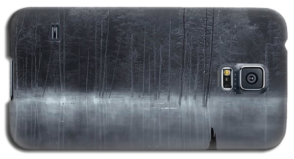 Galaxy S5 Case featuring the photograph Madame Sherri's Pond II by Tom Singleton