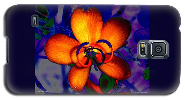 Madarin Petals Galaxy S5 Case