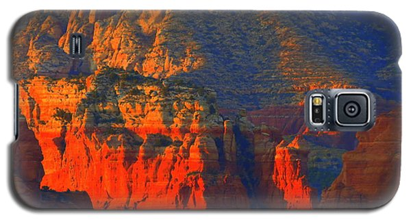 Red Rock Country Glow Galaxy S5 Case