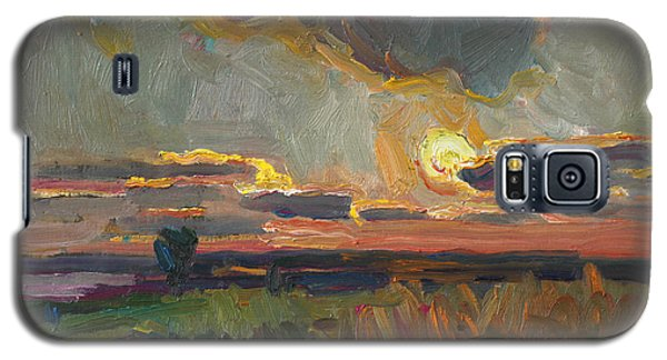 Magical World Of Sunset Galaxy S5 Case
