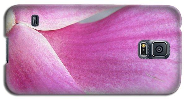 Magnolia In Half Galaxy S5 Case