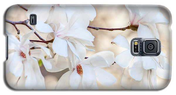 Galaxy S5 Case featuring the photograph Magnolia Spring by Susan Cole Kelly