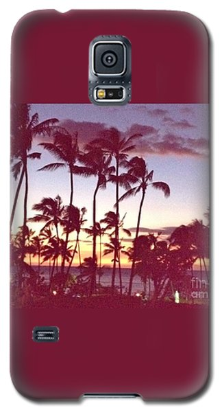 Galaxy S5 Case featuring the photograph Mahalo For This Day by Beth Saffer