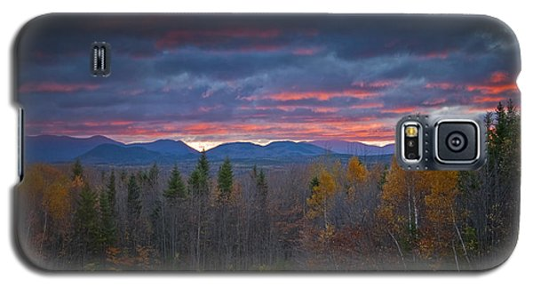 Galaxy S5 Case featuring the photograph Moosehead Sunset by Alana Ranney