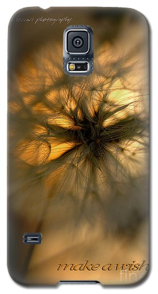 Galaxy S5 Case featuring the photograph Make A Wish by Vicki Ferrari