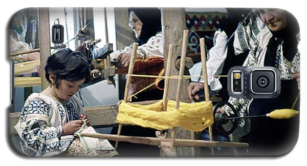 Making Wool Clothing In Vrancea Romania Galaxy S5 Case by Emanuel Tanjala