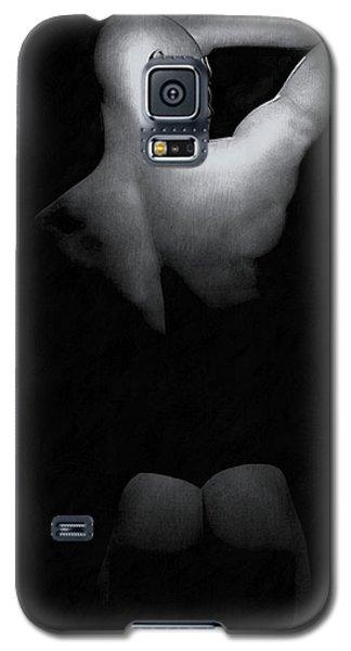 Galaxy S5 Case featuring the digital art Male Back by Maynard Ellis