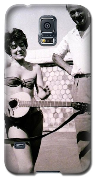 Mama Chris And Gary Cooper In Monte Carlo 1958 Galaxy S5 Case by Colette V Hera  Guggenheim
