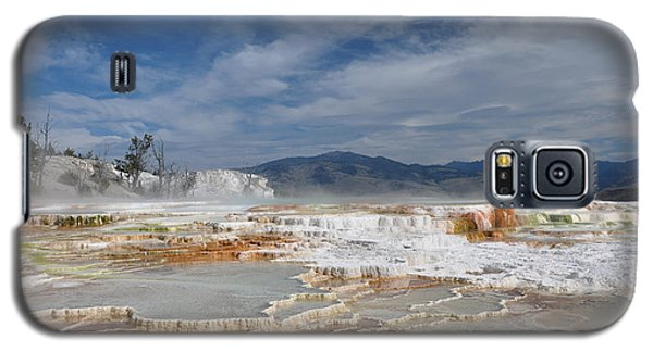 Mammoth Hot Springs Galaxy S5 Case