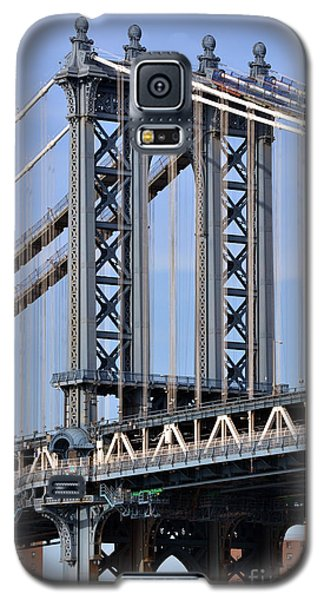 Manhattan Bridge3 Galaxy S5 Case by Zawhaus Photography