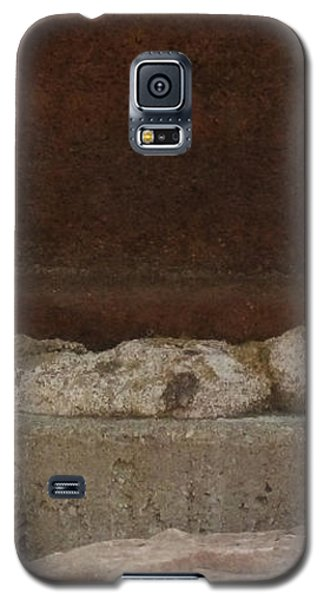 Manhole Cover And Rock Galaxy S5 Case