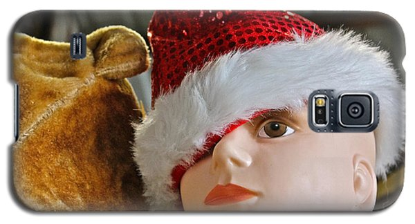 Galaxy S5 Case featuring the photograph Manniquin Santa 2 by Bill Owen
