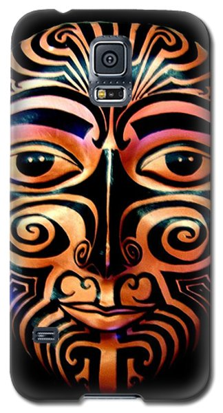 Maori Mask Galaxy S5 Case