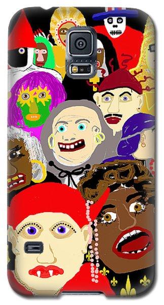 Mardi Gras New Orleans Galaxy S5 Case