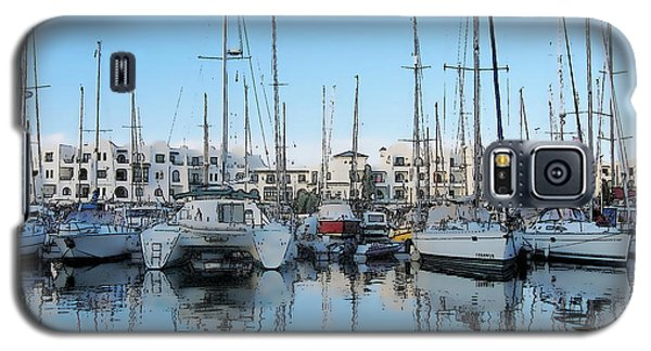 Marina At Port El Kantaoui Sousse Tunisia Galaxy S5 Case by Maciek Froncisz