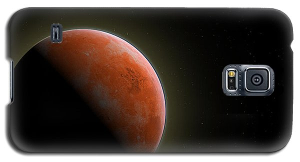 Mars - The Red Planet Galaxy S5 Case by Gordon Engebretson