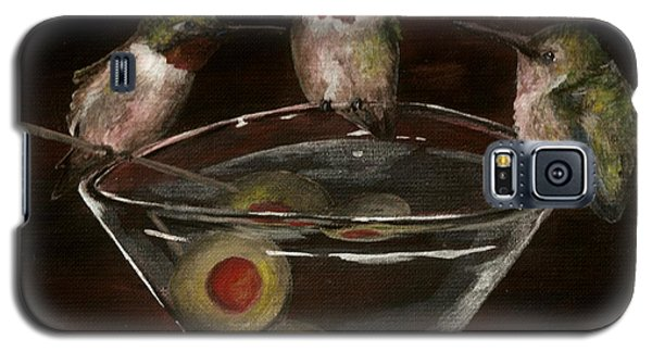 Martini For The Birds Revisited Galaxy S5 Case