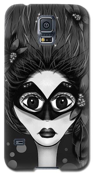 Masquerade Bw Galaxy S5 Case