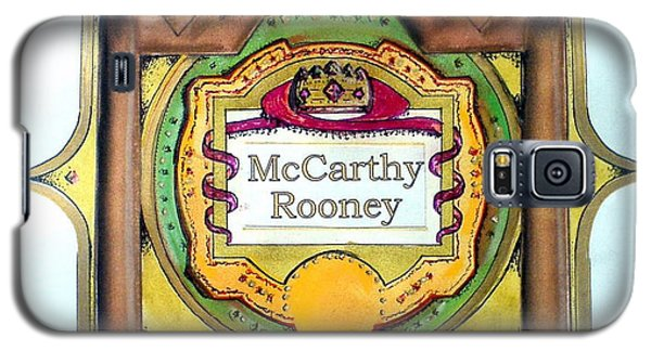 Mccarthy-rooney Family Crest Galaxy S5 Case