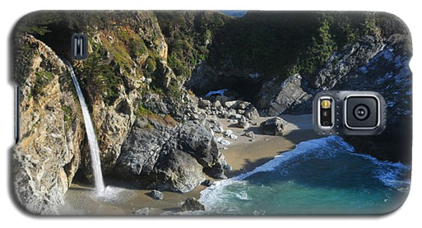 Galaxy S5 Case featuring the photograph Mcway Falls by Lynn Bauer