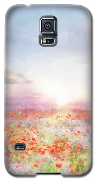 Meadow Flowers Galaxy S5 Case by Francesa Miller