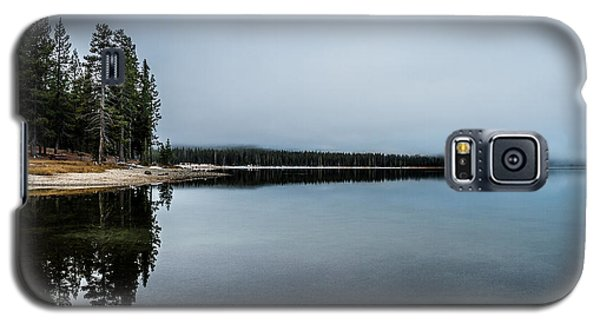 Galaxy S5 Case featuring the photograph Medicine Lake  by Randy Wood