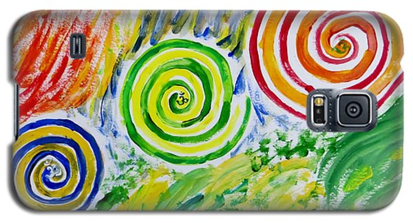 Galaxy S5 Case featuring the painting Meditation by Sonali Gangane