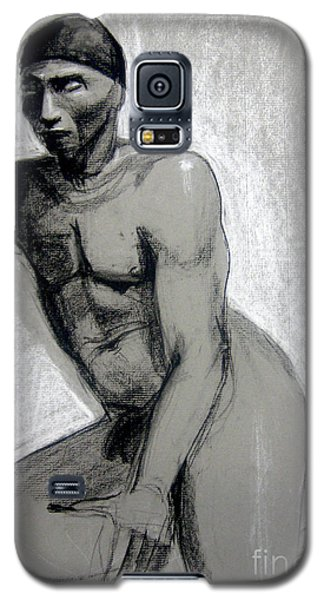 Galaxy S5 Case featuring the drawing Meditations by Gabrielle Wilson-Sealy