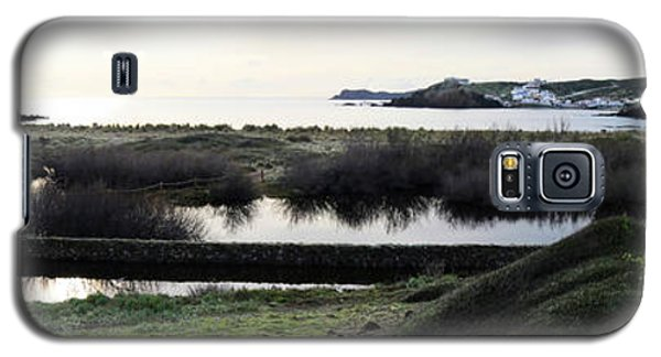 Galaxy S5 Case featuring the photograph Mediterranean View by Pedro Cardona