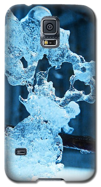 Galaxy S5 Case featuring the photograph Meet The Ice Sculpture by Steve Taylor