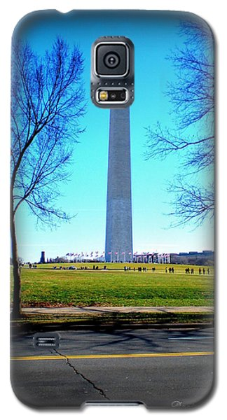 Galaxy S5 Case featuring the photograph Memorials Washington  D.c. by Danielle  Parent