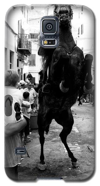 Galaxy S5 Case featuring the photograph Menorca Horse 3 by Pedro Cardona